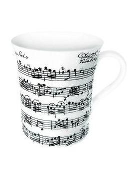 Grand mug blanc Vivaldi 350ml