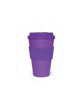 Mug Bambou violet uni 400ml