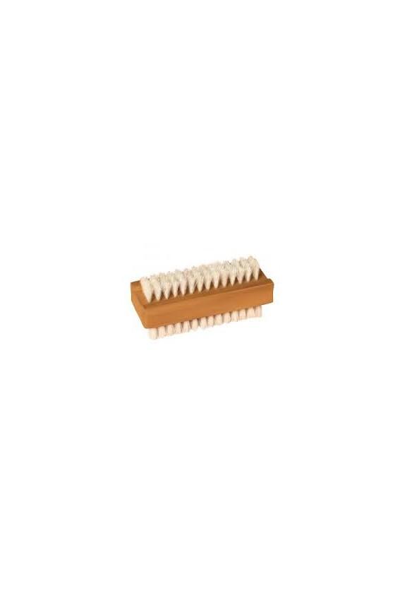 Brosse à ongles large bois 11 cm corde