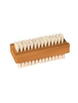 Brosse à ongles bois 10 x 3.5 cm double face