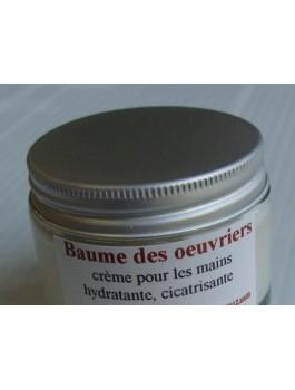 Baume des oeuvriers 50ml pot verre qualité Bio Ecocert