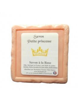 Savon Petite Princesse à la rose 90g