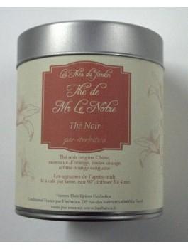 Thé de Mr Le Nôtre thé noir orange 100g