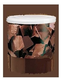 Boite à chocolat porcelaine grande