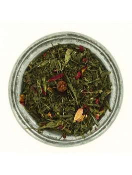 Jardin Musical thé vert fruits rouges 100g boite métal