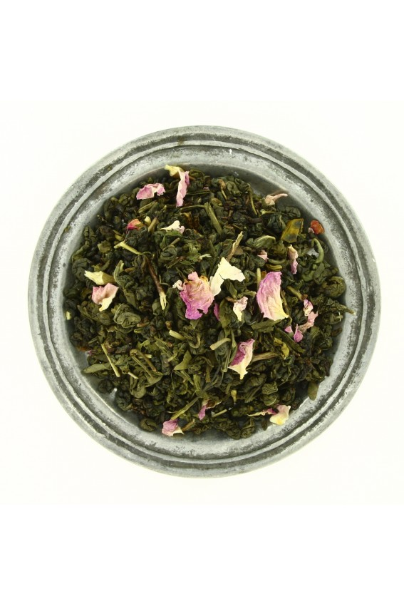 Thé vert Douceur de Rose