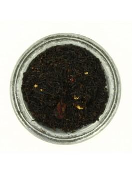 Thé noir Très gourmand nougat framboise