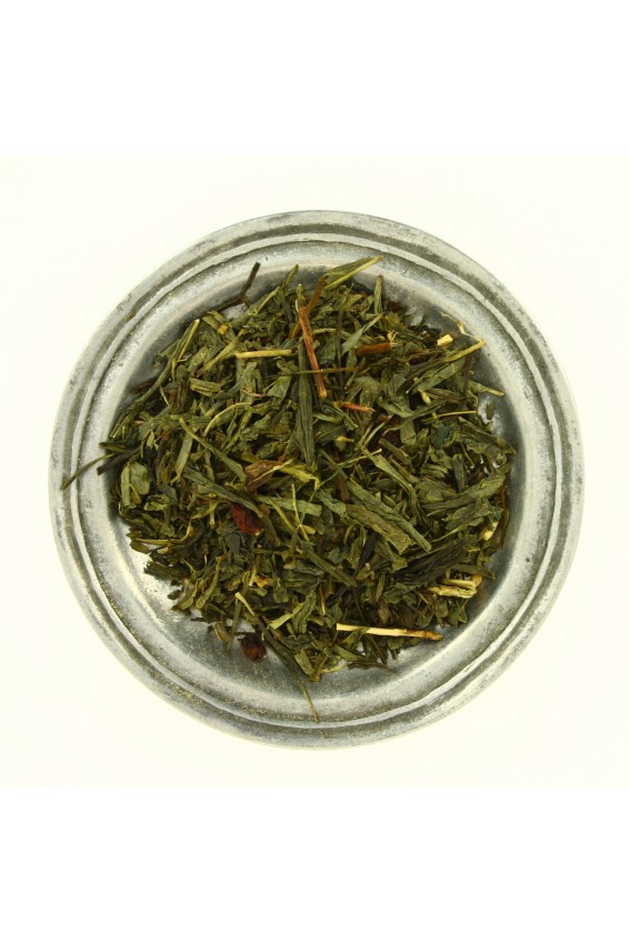Thé vert à l'Argousier