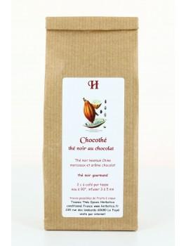 Chocothé thé noir Chocolat sachet 80g
