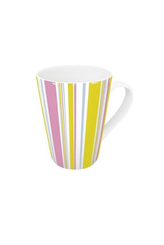 Mug Polka 420ml porcelaine