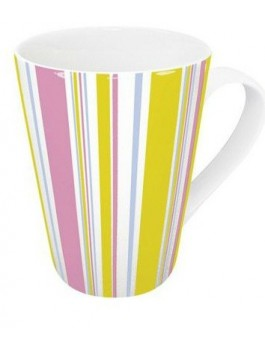 Mug Polka 420ml porcelaine