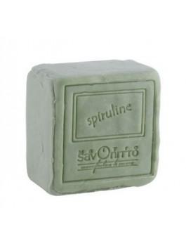 Cube à la spiruline 265g pour peaux à boutons.