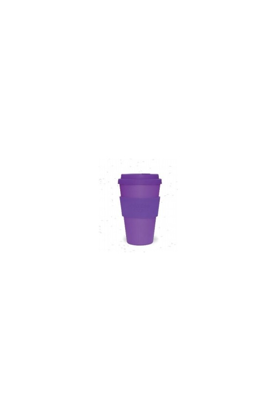 Mug bambou violet 400ml