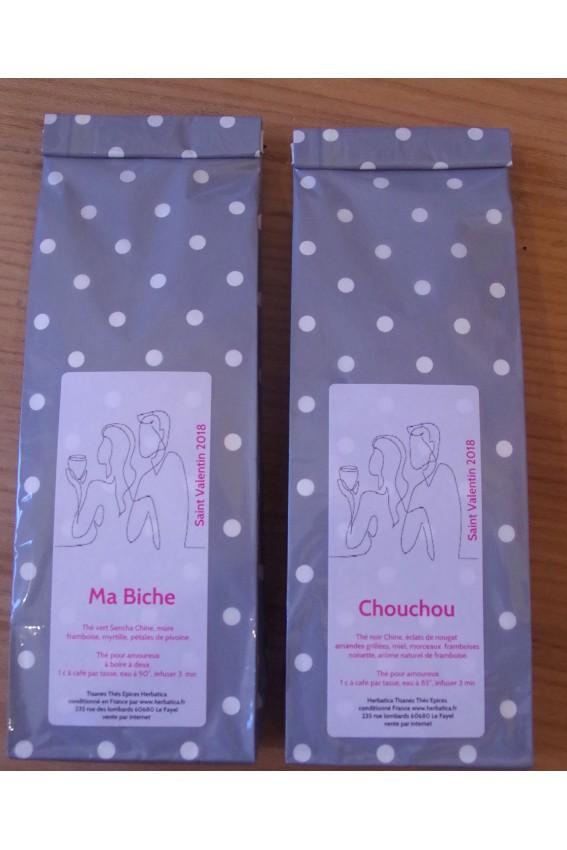 Duo Ma Biche et Chouchou St Valentin