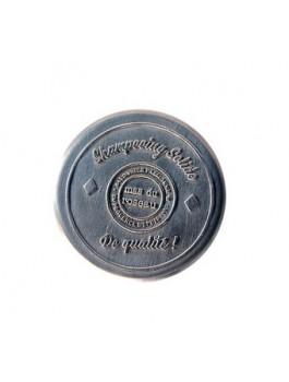 Boite vide en métal pour shampooing solide