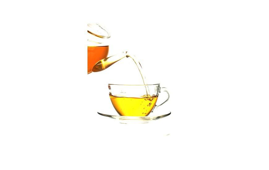 Thé Hojicha au miel et gingembre